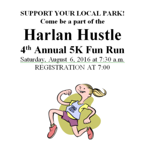 Harlan Hustle 5K Fun Run