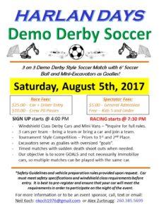 Harlan Days Demo Soccer 2017